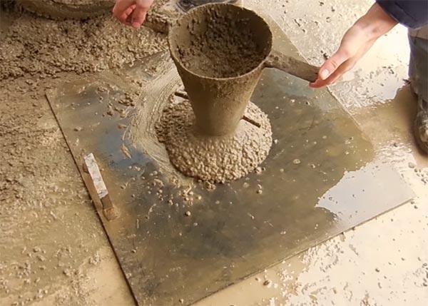 Что такое жесткость бетонной смеси и как ее определить лью бетон