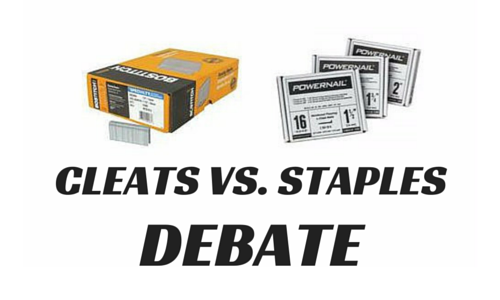 Weighing in on the Cleats vs. Staples Debate