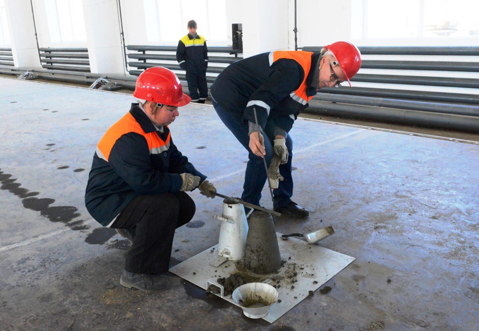 Удобоукладываемость бетонной смеси по марке залить стену из керамзитобетона