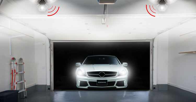 motion activated garage light