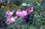 Поделки для палисадника – 25 фото, лучшие украшения для сада