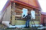 Утепление стен деревянного дома снаружи своими руками – Как утеплить деревянным дом снаружи и чем