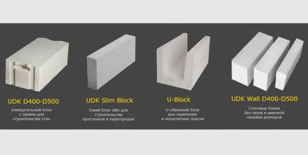 размеры газосиликатных блоков для перегородок