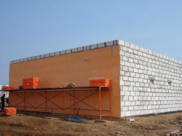 Как утеплить пеноблок снаружи – Утепление стен из пеноблоков снаружи — Пенообразователь для пенобетона