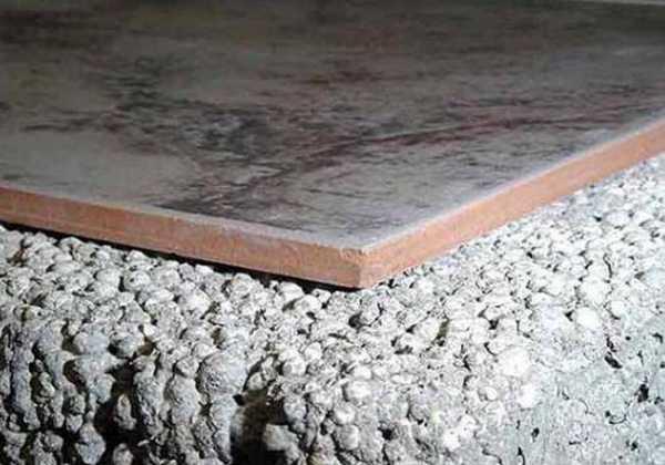 Керамзитобетон для стяжки пола пропорции rб бетона