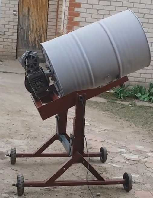 бетономешалка на 500 литров своими руками