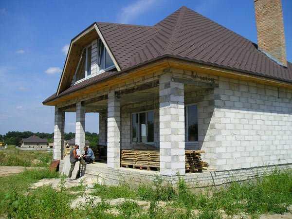 срок службы шлакоблочного дома